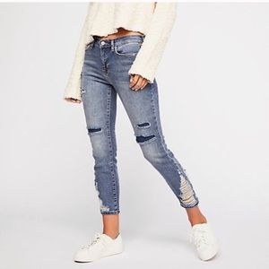 Free People About A Girl Jeans
